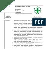 SOP Penanggulangan KTD, KPC, KNC