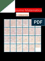 Resumo Matemática | fichas resumos formular matemáica