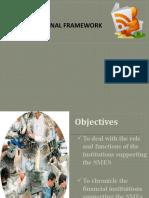 SME Institutional Framework