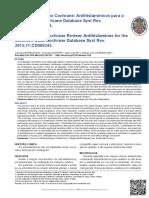 Antihistaminicos Revision Sistematica 2015