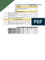 Sistematización Costos, APU, Presupuestos TALLER CÁRCAMO
