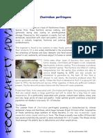 Clostridium Perfringens November 2015