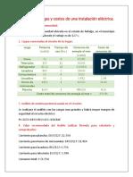 Analisis de Cargas y Costos Practica
