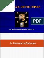 Gerencia de Sistemas Sesión I