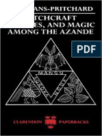 Witchcraft Oracles and Magic Among the Azande 1976