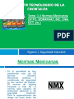Equipo 4. Normas Mexicanas (Stps, Semarnat, Ine, Cna, Sct)
