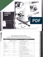 Porciones de Intercambio y Composicion Quimica de Los Alimentos de La Piramide Alimentaria Chilena