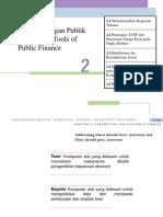 Bab 2 Studi Keuangan Publik