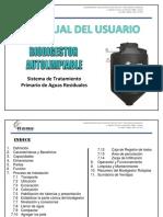 Manual de Instalacion, Operacion y Mantenimiento Del Biodigestor Rotoplas