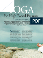 14 Yoga for High Blood Pressure
