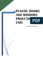 Plastic Doors and Windows