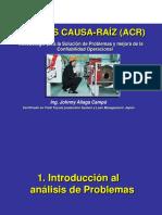 Análisis Causa Raíz ACR-JA-2505