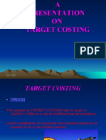 Ppt Target Costing