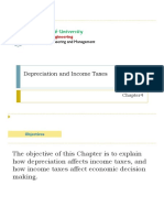 Chapter 4-Depreciation and Tax Income