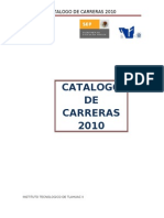 Catalogo de Carreras 2010