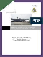 Investigación - Aeropuerto Internacional de Singapur