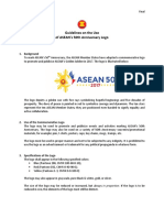 Guidelines on the Use of ASEAN 50 Logo