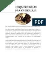 Influenţa scrisului asupra creierului.docx