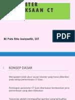 Parameter Ct Scan