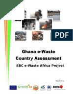 E Waste Assessment Ghana