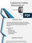 Tyre Manufacturing Process at Apollo Tyred Ltd