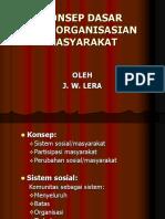 34. Konsep Dasar Pengorganisasian Masyarakat