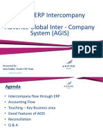 Oracle AGIS - Intercompany