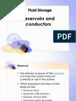 Fluid Power -Reserviors & Conductors