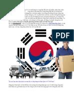 Dịch Vụ Order Mua Hộ Và Chuyển Gửi Hàng Từ Hàn Quốc Về Việt Nam