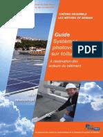 Guide Systèmes PV Sur Toiture-terrasse