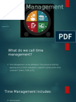 Time Management Personal Development Powerpoint Three