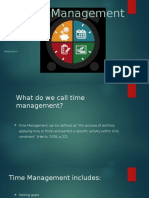 Time Management Personal Development Powerpoint Three