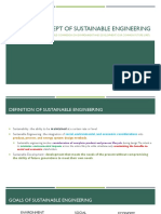 01 Concept & Principles of Sustaible Engineering