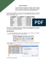Informatica - Tablas Dinamicas Guia