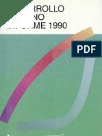 Informe de Desarrollo Humano 1990