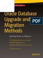 Oracle Database Upgrade and Migration Methods Including Oracle 12c Release 2