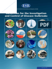 Guidelines for the Investigation and Control of Disease Outbreaks