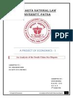 Economics Final Draft