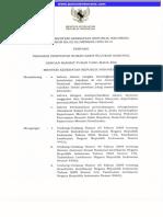Keputusan Menteri Kesehatan Nomor 390 Tahun 2014 Tentang Pedoman Penetapan Rumah Sakit Rujukan Nasional
