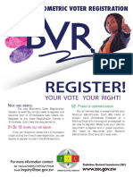 REGISTER! YOUR VOTE YOUR RIGHT!