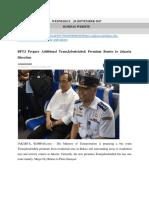 20 09 17 Kompas BPTJ Prepare Additional Transjabodetabek Premium Routes to Jakarta Direction