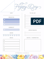 Lovilee DIY_Daily Planner_French Blue