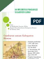 2016 Kuliah Umum Linda Kebijakan Dan Implementasi Program Gizi Di Kabupaten Sleman