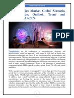 Nanophotonics Market Global Scenario, Market Size, Outlook, Trend and Forecast, 2015-2024