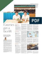Restaurants Revamp in Singapore