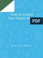Talent Brand eBook