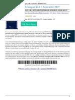 Standar Akuntansi Keuangan SAK 1 September 2007