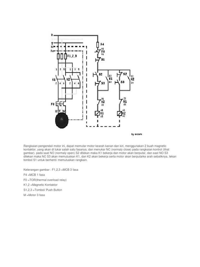 Rangkaian Pengendali Motor Ini