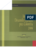 Informe Colombia 1999