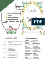 Buku Program Khatam Al Quran 2017